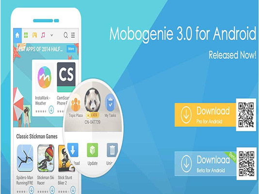Tải mobogenie cho điện thoại Android, iOS