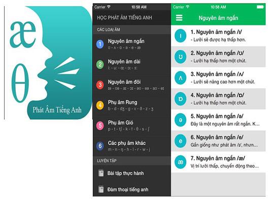 Tải phát âm tiếng Anh cho điện thoại Android, iOS