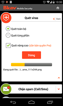 Tải Bkav mobile security cho android