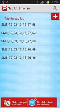 Tải ứng dụng sao lưu tin nhắn miễn phí