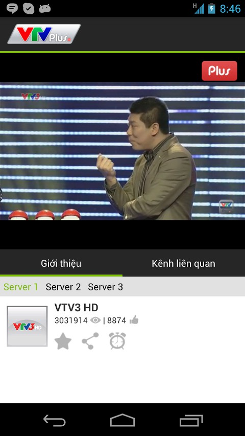 Tải VTV Plus cho điện thoại Android, iOS 02