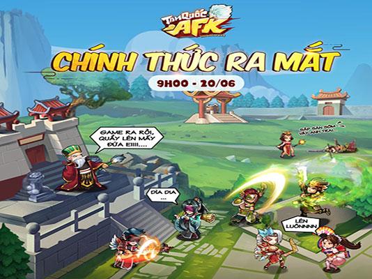 Tải game Tam Quốc AFK