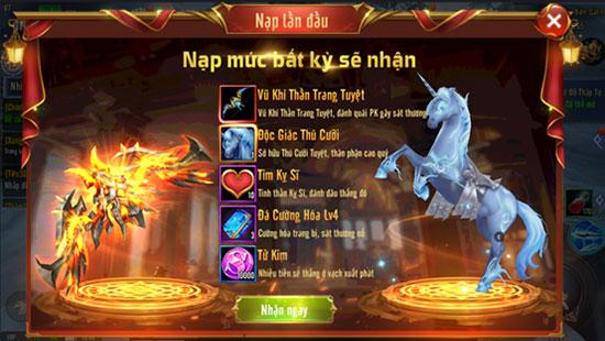 Tặng GiftCode Chiến Thần Chi Nộ cho tân thủ 02