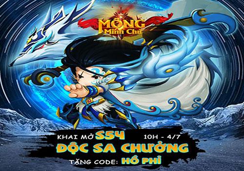 Tặng GiftCode Mộng Minh Chủ cho tân thủ 03