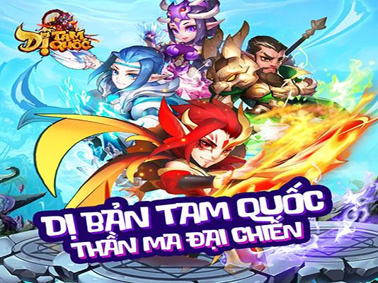 Tải game Dị Tam Quốc Mobile Funtap
