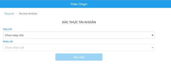 Cách nạp thẻ Poke Origin 02
