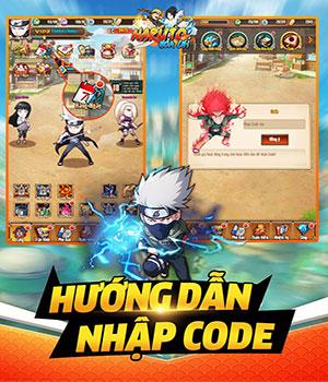 Cách nhập GiftCode Naruto Hỏa Chí nhận thưởng