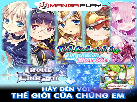 Tải game Thông Linh Sư H5 MangaPlay