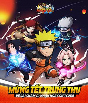 Tặng GiftCode Naruto Hỏa Chí cho tân thủ 01