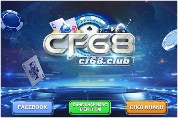 Giới thiệu app game bài CF68 01