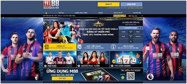 Nhà cái M88 - Lão làng trên thị trường đánh cược trực tuyến 03