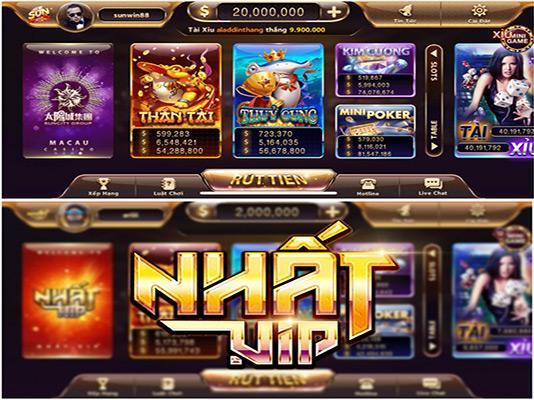 Những game bài đổi thưởng ATM uy tín nhất hiện nay